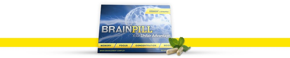 brain pill contains  Cognizin® and Synapsa™